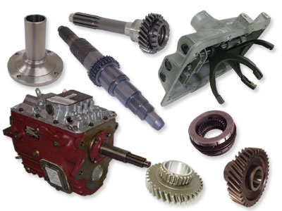 Parts for truck transmissions, differentials, transfer cases and PTOs.