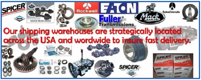 Rebuilt Truck Transmissions, Differentials and Parts.